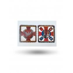 Pocztówka - sztandar