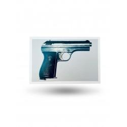 Pocztówka - pistolet